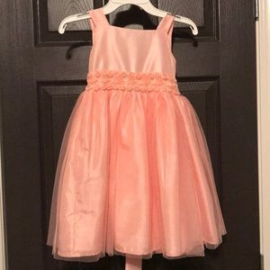 Coral Easter dress.